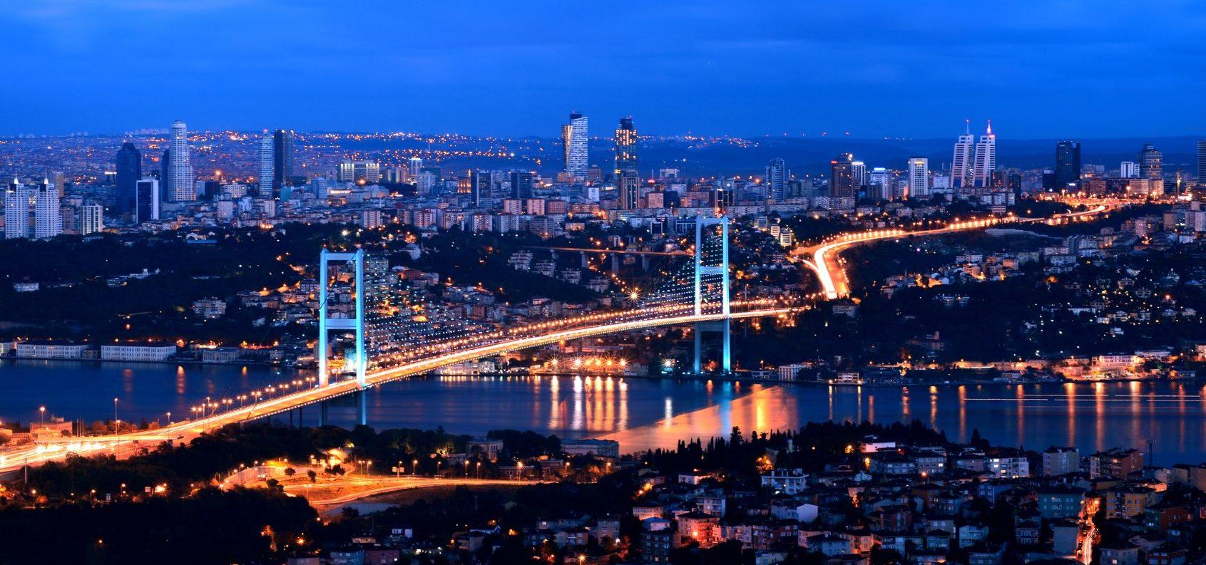 How the Bosphorus was frozen in 1954